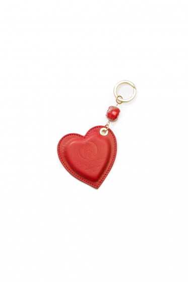 KEY RINGS EMILIE COL. RED