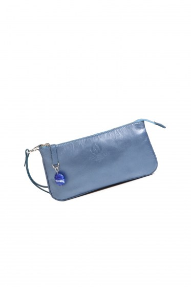 PURSE SELINE COL. BLUE