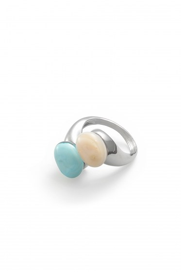 RING CAMILLE COL. TURCHESE PINK