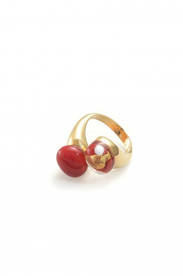 RING CAMILLE COL. RED
