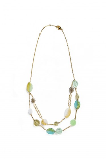 SUMMER NECKLACE chocker Double
