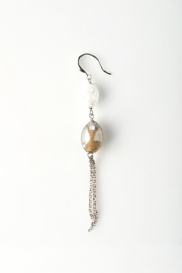 REZZONICO EARRINGS DANGLING TOP PT