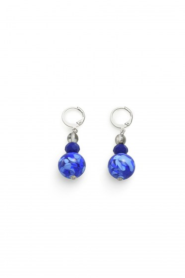 EARRINGS FENICE  B BASIC COL. BLUE