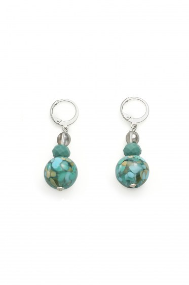 EARRINGS FENICE B BASIC COL. GREEN