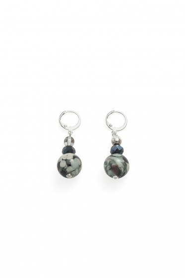 EARRINGS FENICE B BASIC COL. BLACK
