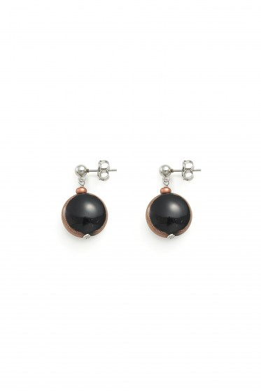 EARRINGS MADEMOISELLE COL. BLACK