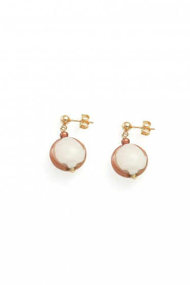 EARRINGS MADEMOISELLE COL. NUDE