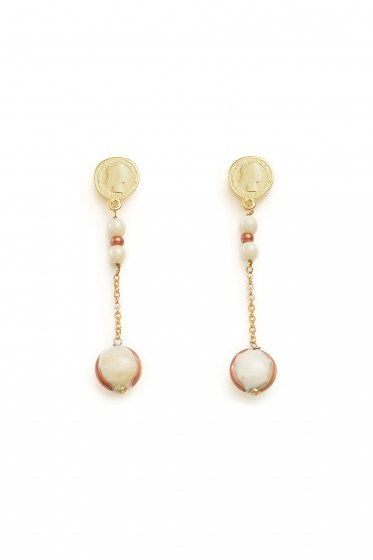 EARRINGS MADEMOISELLE PENDENTE COL. NUDE