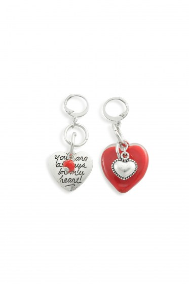 EARRINGS AMOUR      (5,5cm)
