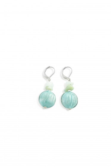 EARRINGS SAUVAGE SHORT   (4cm)