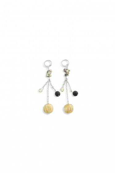 EARRINGS SAUVAGE LONG    (8,5cm)